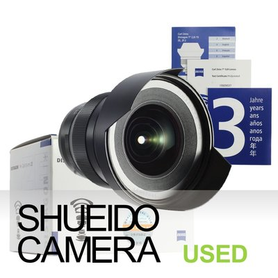 集英堂写真機【3個月保固】美品 / ZEISS 蔡司 DISTAGON T* 15mm F2.8 ZE 鏡頭 17350