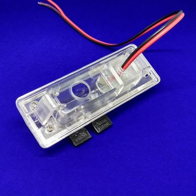 @天祥汽車用品13款雷克薩斯ES250倒車后視攝像頭牌照燈支架記錄儀探頭固定底座