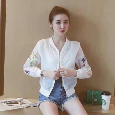 FINDSENSE G5 韓國時尚 夏季 香草 透視 防曬衣 百搭 短外套 開衫