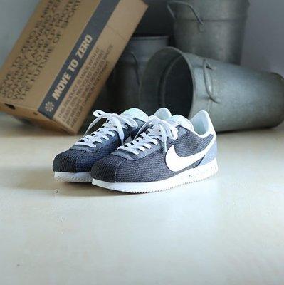 Nike Cortez Basic Premium 灰白 環保灰 復古 阿甘 低幫 滑板鞋 CQ6663-001 男鞋