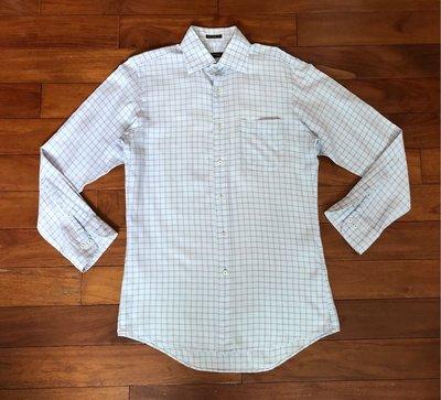 BURBERRY(日本製)黑標  長袖  襯衫 水藍色 39號   Munsingwear  參考