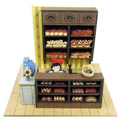【煥達國際】日版 魔女宅急便 琪琪與麵包店 3D模型紙雕 袖珍屋 娃娃屋 模型屋