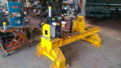 ※達哥木工車床//【WE-150AD無段變速*變頻型式專業用木工車床】使用長度140公分/盤面直徑90公分/共9尺長.