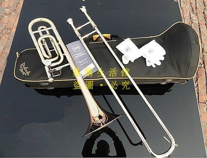 [王哥廠家直销]時尚最新款西洋樂器長號Bach巴哈36BO高級變調次中音長號德國進口磷青銅號身拉器長號樂器音色超好舞臺演奏