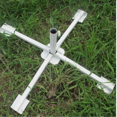 四腳傘座 遮陽傘傘架 廣告傘底座 折疊鋼架 2.4/2.8/3米遮陽傘座四角傘底座
