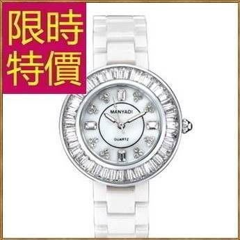 女錶陶瓷錶-焦點帥氣明星同款大方女腕錶2色55j4[獨家進口][米蘭精品]