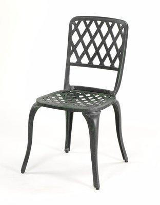 【南洋風休閒傢俱】戶外休閒桌椅系列-#130C 編織餐椅 戶外鋁合金餐椅    (#013C)