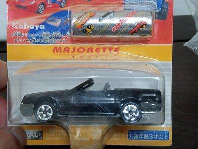 (未拆封小車)美捷輪 Majorette no.260 Mercedes 500 SL 黑色敞篷跑車 (A358)