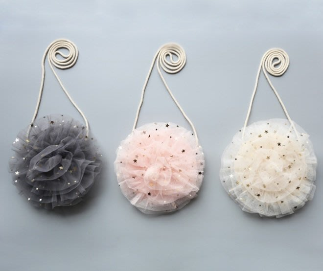 BB08現貨~女童包包 蕾絲花朵造型 寶寶首飾包兒童斜挎包 創意款單肩包 兒童掛包 斜挎包☆草莓花園☆