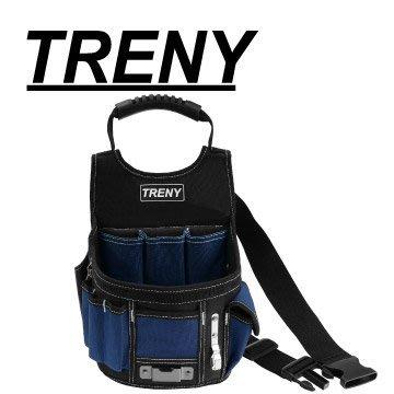 【TRENY直營】TRENY (大口款-工具腰帶) 整齊收納不零亂 隨身工具包 電工包 耐磨 耐重 大容量 5032C