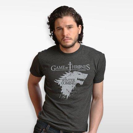 權力的遊戲T恤美劇冰與火之歌週邊史塔克狼夏季短袖男衣服