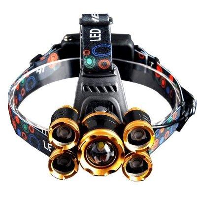 櫻花SHOP 頭燈強光充電超亮頭戴式防水感應打獵鋰電礦燈LED釣魚電筒米YH863
