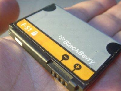 黑莓機 BlackBerry F-S1/FS1 原廠電池 Torch 9800 9810 桃園《蝦米小鋪》