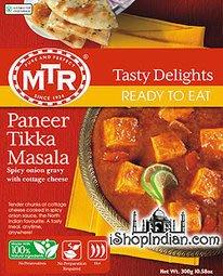 印度奶酪提卡咖哩調理包 MTR Paneer Tikka Masala