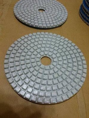 4寸100mm 3吋80mm水磨片番號齊@50番~超高10000番@用於石材 玉石 陶瓷 玻璃 地磚等 打磨 研磨 清潔 台北市