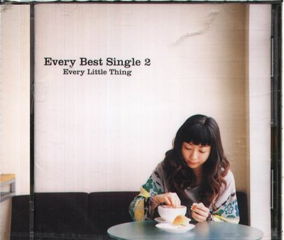 K - Every Little Thing 小事樂團 - Every Best Single 2 - 日版
