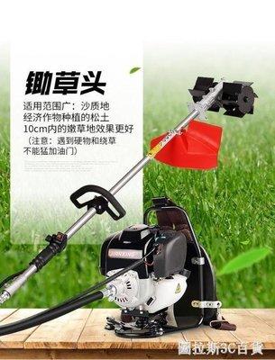 哆啦本鋪 四沖程背負式汽油小型鬆土機打草機除草機農用多功能 D655