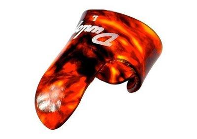 【硬地搖滾】全館$399免運!DUNLOP Finger&Thumb Pick 食指套 M / L 玳瑁色 匹克