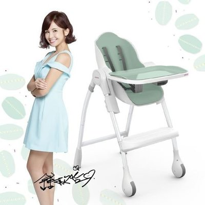 新加玻Oribel - Cocoon-成長型多功能高腳餐椅  用餐椅 餐椅  -馬卡龍綠