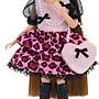 【Mika】莉卡配件 紅粉豹紋裝(不含娃娃)Licca Fashionable Leopard Dress Set 洋裝