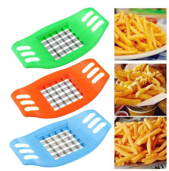 創意廚房用品 家用土豆切條器-切薯條器 做薯條的利器 切番薯器 切馬鈴薯 薯條DIY