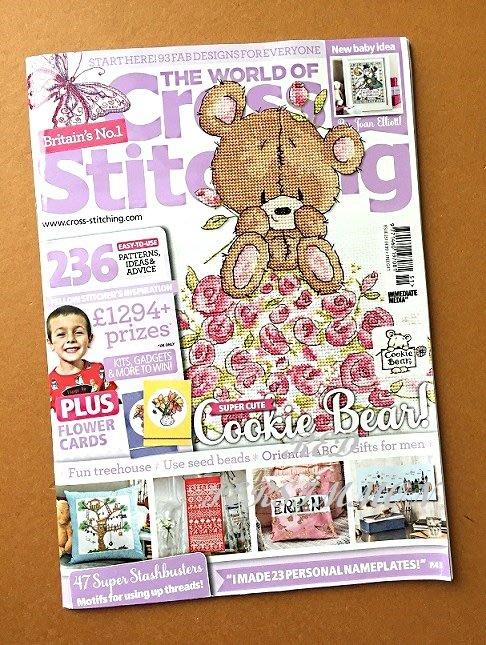 紅柿子【英文彩色版• Cross Stitching 十字繡作品集 Issue 251】特售70元‧