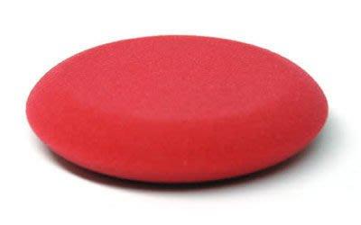 愛車美*~Round Red Foam Applicator Pad 無接縫邊銅鑼燒上蠟棉(小) 2入