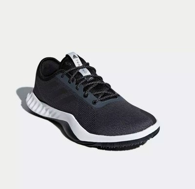 # ADIDAS CRAZYTRAIN LT SHOES 灰黑 透氣 運動 休閒 慢跑鞋 男鞋 DA8689 YTS