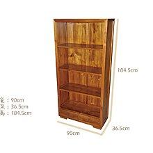 塔森柚木家具-全柚木書櫃/收納櫃/置物櫃 CA-9