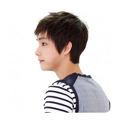 整頂 假髮 真髮絲-時尚帥氣自然舒適男假髮2色73vb11[獨家進口][米蘭精品]