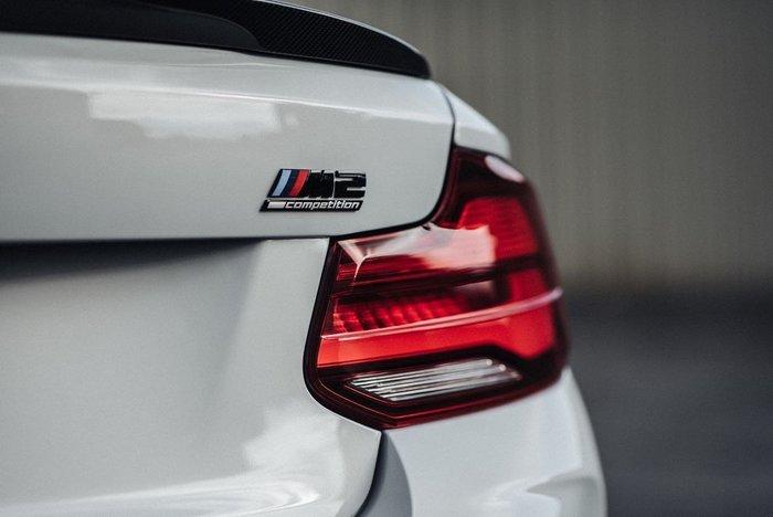 【樂駒】BMW 原廠 F22 F87 LCI LED Black Line 燻黑尾燈 套件 改裝 精品 電子 系統