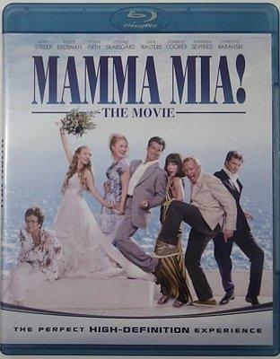[現貨] 媽媽咪呀MAMMA MIA! THE MOVIE BD藍光限定版 [台式繁中字幕]