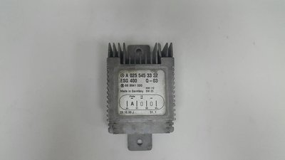 BENZ W210 M111 96-02 輔助風扇控制器 散熱馬達 散熱風扇 冷氣馬達 電子風扇 0255453332