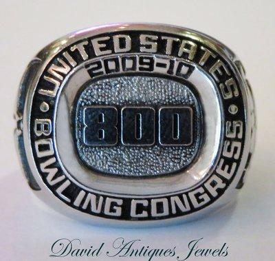 ((天堂鳥)) King of   Ring 新品刊登 美國保齡球協會800系列紀念男戒