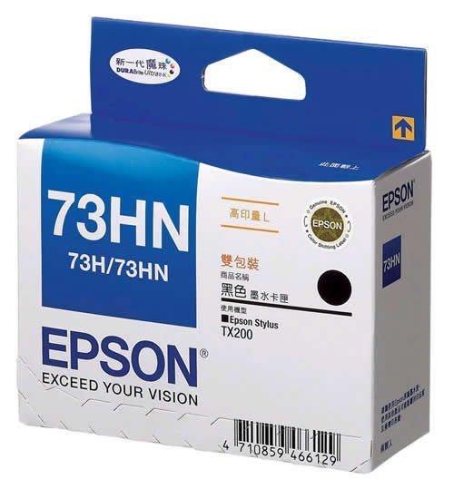 (含稅價)EPSON T073HN/73HN 原廠墨水匣 適TX610FW/CX9300F/T30/T40/TX200①