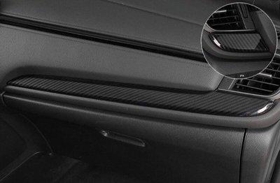 【安喬汽車精品】本田 HONDA CRV5 五代 水轉 卡夢 中控台飾條面板 貼片
