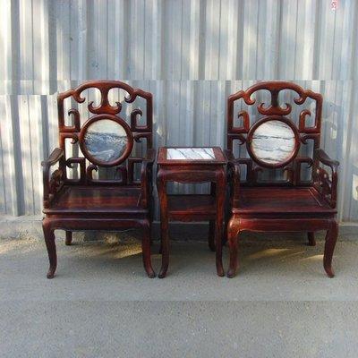 聚寶閣 老撾紅酸枝 太師椅 O1328