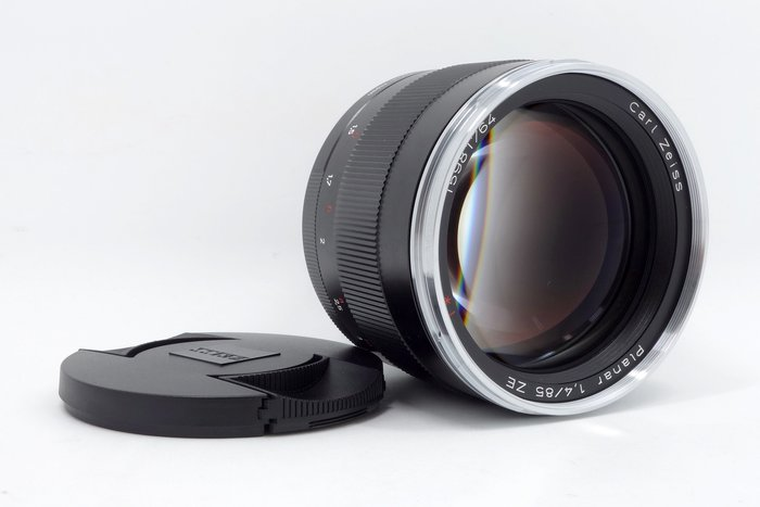 【台中青蘋果】CARL ZEISS Planar 85mm f1.4 二手 蔡司 鏡頭 公司貨 #01530