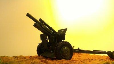 國軍老兵系列陸軍M101 105mm榴彈砲不含材料可加價選購禮炮塗裝(請先連繫存貨情形)