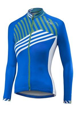 全新 新品 GIANT 捷安特 Liv ACCELERATE 薄刷毛女長袖車衣 藍/白