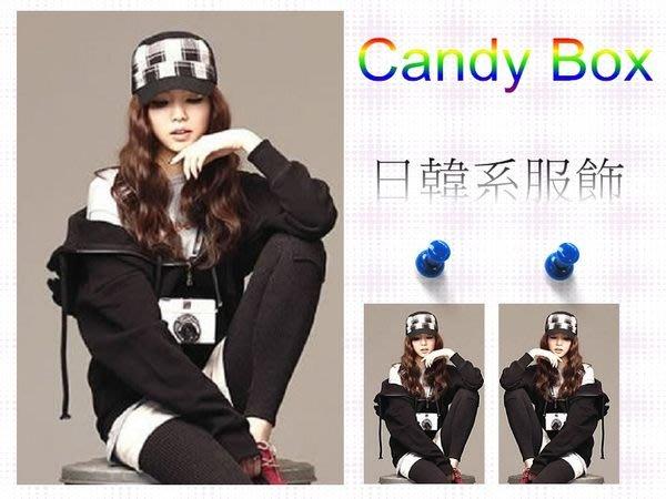 ☆Candy Box☆韓版純色帶翅膀天使休閒連帽抓絨衛衣外套 黑(L) W1822285