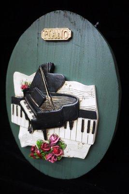 【布拉格歐風傢俱】鋼琴木板壁掛...