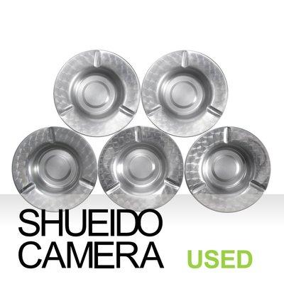 集英堂写真機【全國免運】良上品 鋁製菸灰缸 5入組 同心圓紋 餐廳 工作室 辦公室 #10 18970