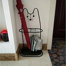 日式招財貓傘架
