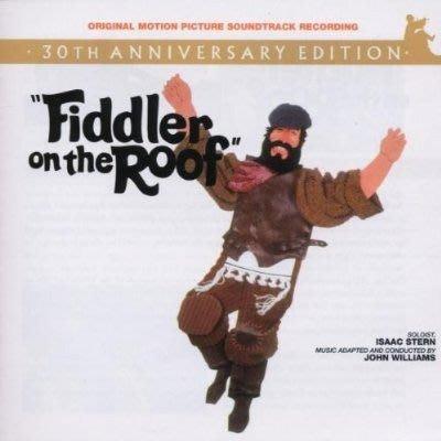 美版全新CD~屋頂上的提琴手電影原聲帶30周年紀念版Fiddler On The Roof [30th Anniversary Edition]