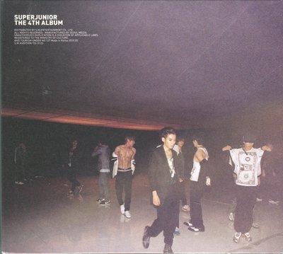 【嘟嘟音樂坊】Super Junior Vol. 4 - 美人啊 Bonamana 韓國版
