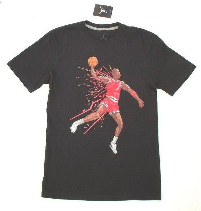 Jordan灌籃  Air Jordan Retro 3 III Dunk T-Shirt 黑色S號