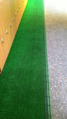 人造草皮刮泥墊排水墊 草皮地墊人工草皮門墊組合式拼接式假草皮園藝裝飾塑膠草皮排水板