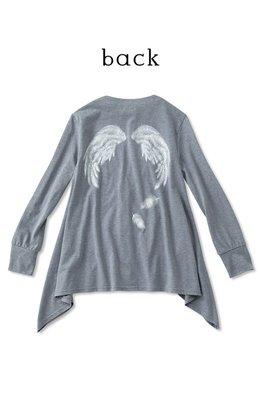 Nusy 春 天使的翅膀 灰色薄棉外套 **Final Sale**