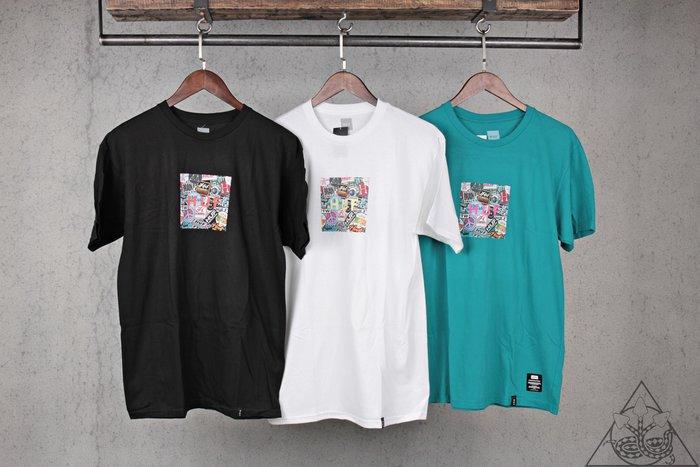 【HYDRA】HUF Sticker Wars Box Logo T-Shirt 貼紙牆 短T【TS00758】